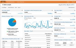 Google Analytics WorldPAy